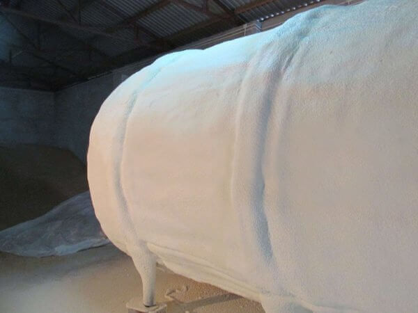 Obiekty specjalne inne izolacje przemysłowe pianą poliuretanową